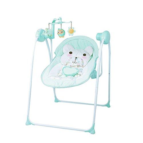 ALUK- Lit Berceau électrique/Lit bébé/Baby Shaker Newborn Shaker Automatique Intelligent Lit de Repos (Couleur : #3)