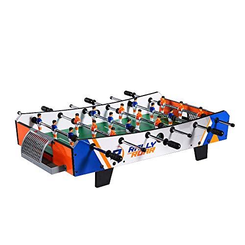 Futbolín de sobremesa portátil mini para diversión en familia con niños y adultos, ideal para bares y salas de juego
