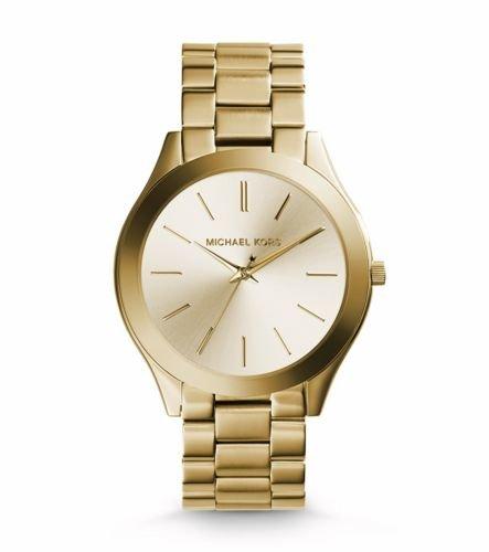 MICHAEL KORS Damen Analog Quarz Uhr mit Edelstahl Armband MK3179