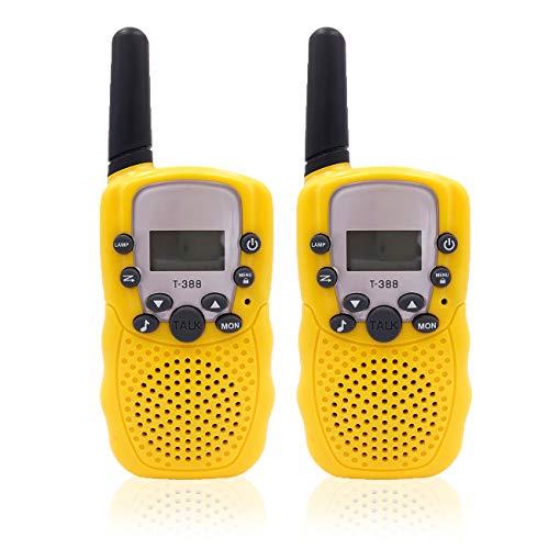 iLink Kids walkie Talkie Toys 2pz–PMR446MHZ 0.5W 8canali con Lampada a LED e Display LCD, a Lungo Raggio per Bambini da Escursionismo Campeggio–Migliori Regali per da 3a 12Anni