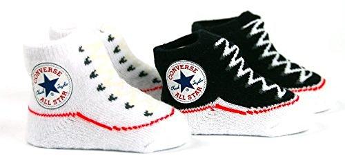 Converse , Chaussures souples pour bébé (fille) Noir - Noir