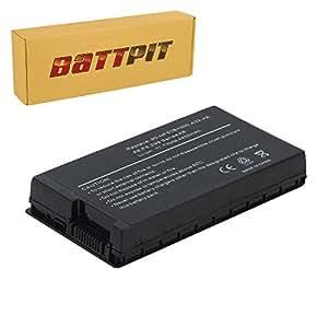Battpit Batterie d'ordinateur Portable de Remplacement pour Asus F50Q (4400mah / 49wh)