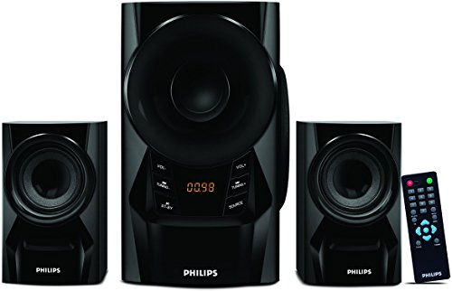 Philips IN-MMS6080B/94 2.1 Channel Multimedia Speakers