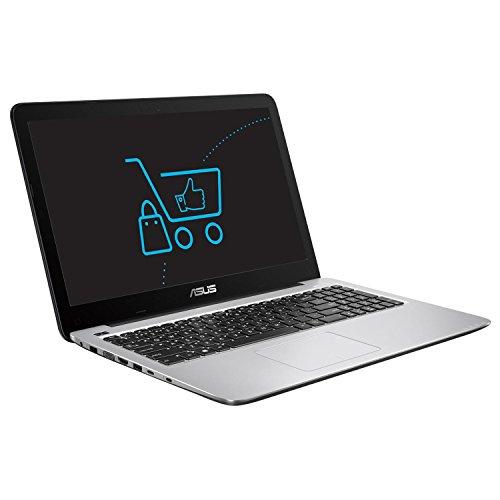 Asus R558UQ-DM513D 39,62 cm (15,6 Zoll) Laptop Notebook (Intel Core i5-7200U, 1000GB Festplatte, 4GB RAM, NVIDIA GeForce 940MX) schwarz/silber
