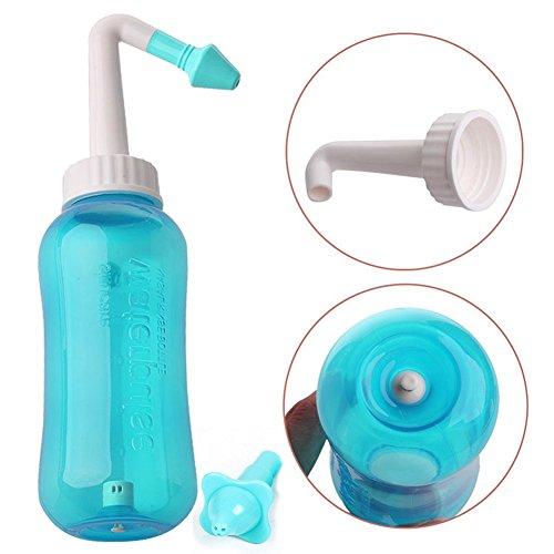 steellwingsf Erwachsene Kinder Neti Pot Nasal Nase Waschen Detox Sinus Tiefe Reinigung Spülen Kit - Tiefe Reinigung