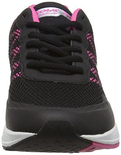 Gola Triton, Scarpe da Corsa Donna Nero (Black/Pink)