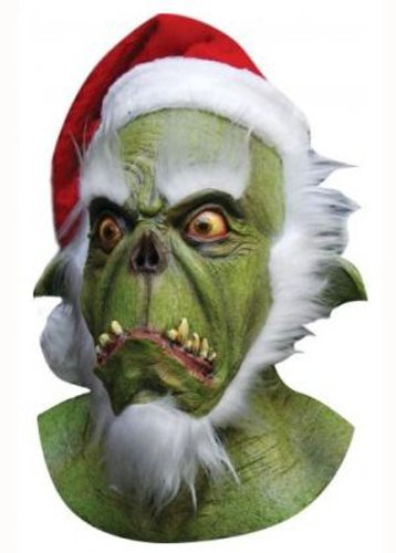 Deluxe Halloween der Grinch Style (Grinch Erwachsene Kostüme Der Für)