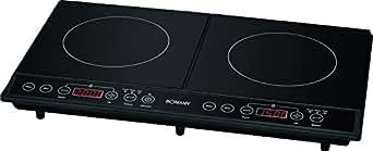 Bomann DKI 5029CB cuisson électriques/Verre Céramique/60cm/technique de induction/Eco-Save/Noir