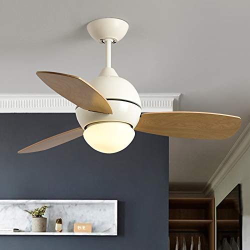 GWM Nordic Fan Light Comedor Creativo Ventilador de Techo Light Modern Minimalist...