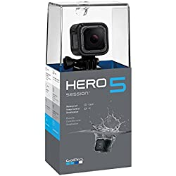 GoPro Hero5 Session - Videocámara de 10 MP (4K, 1080p, WiFi, CMOS), Color Negro