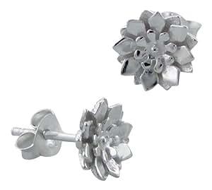 Laimons - Orecchini donna - fiore gerbera - argento Sterling 925