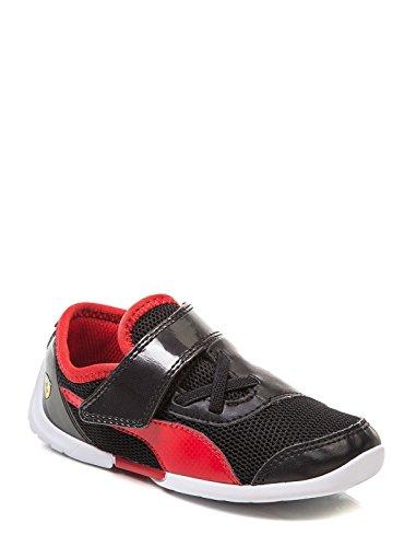 Puma Ferrari future cat eVo SF kids Jungen Sneaker Trainer Black Shoes (28 EU, Black)