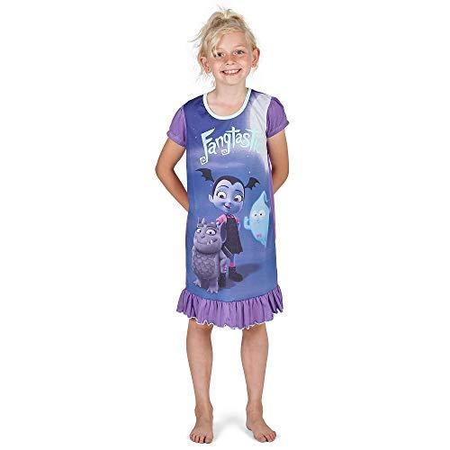High Für Kostüm Jungen Monster - Disney Princess & Tv Character Mädchen Nachthemd Mit König Der Löwen, Aladdin, Cinderella, Paw Patrol, Little Mermaid | Kindernachtwäsche Mit Prinzessinnen (4/5 Jahre, Vampirina)