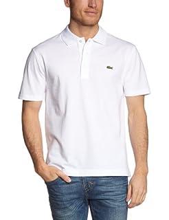 Lacoste Men's L1230 Polo Shirt, White 001), M (B005787Z8A) | Amazon Products