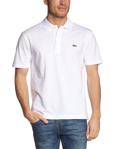 Lacoste Herren Sport, Poloshirt L1230-00, Einfarbig, Gr. XX-Large (Herstellergröße: 54)(T7), Weiß (001 BLANC)
