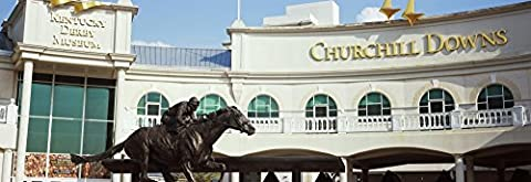 Panoramic Images – Facade of the Kentucky Derby Museum Churchill Downs Louisville Kentucky USA Photo Print (20,32 x 25,40 (Churchill Derby Downs)