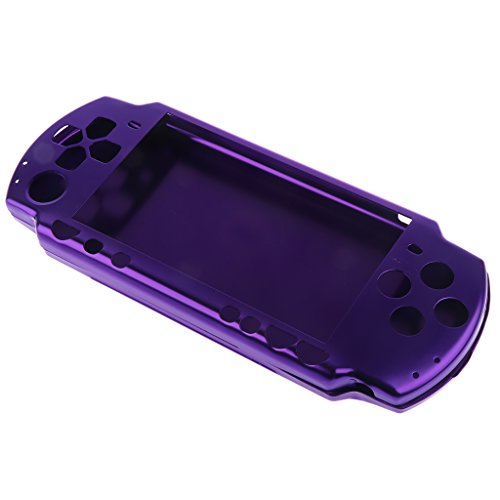 MagiDeal Dust-proof Aluminum Skin Case Cover for Sony PlayStation PSP 2000 Game Controller Purple