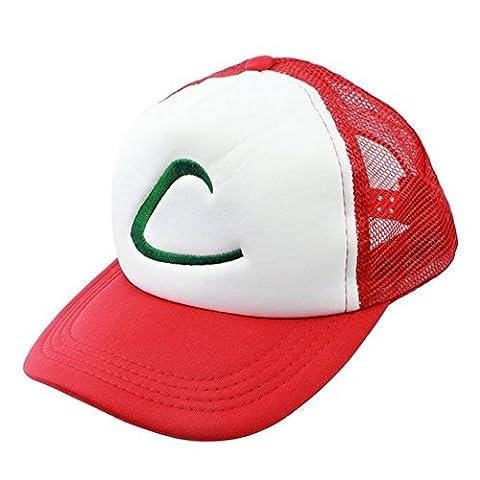 Karneval Cosplay Prop Pokemon Ash Cap Ketchum Hut Kappe Halloweeen Toys Kostüm Merchandise