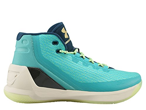UNDER ARMOUR ua curry 3 UOMO SCARPE BASKET Celeste