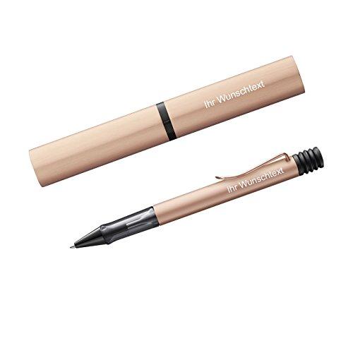 Lamy Kugelschreiber Lx RAu Modell 276, inkl. Laser-Gravur, Farbe rosegold