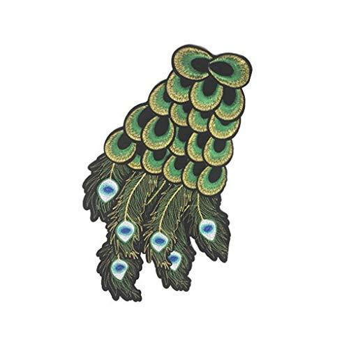Kakiyi Handgemachte Bunte Flügel Kleidung Aufnäher Stickapplikationen Kostüm-Kleidung Paste ()