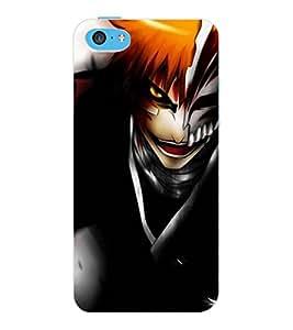 ColourCraft Dangerous Joker Design Back Case Cover for APPLE IPHONE 5C