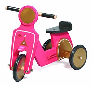 au sycomore por125f jouet en bois scooter fille jeux et jouets. Black Bedroom Furniture Sets. Home Design Ideas