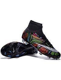 Andrew zapatos para hombre Mercurial Superfly FG Botas de fútbol, hombre, arco iris, 40