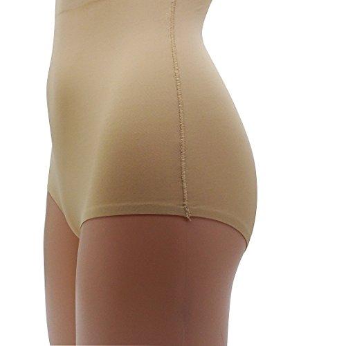 J&Q -  Mutande contenitive  - Donna A1-Skintone-2Pack