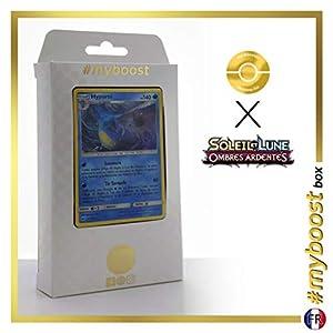 Hyporoi (Kingdra) 31/147 Holo - #myboost X Soleil & Lune 3 Ombres Ardentes - Box de 10 Cartas Pokémon Francés