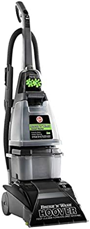 Hoover Brush 'N' Wash Carpet and Hardfloor Washer, F5916, Grey, 1 Year Brand Warranty