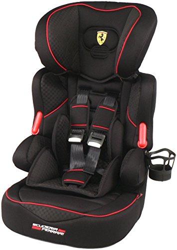Ferrari GT Black Siège enfant Siège originale Siège auto bébé enfant Groupe 1/2/3–9–36kg neuf