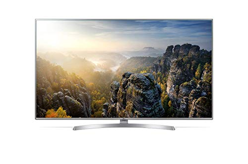 LG 55UK6950PLB 55in 4K Ultra HD Smart TV Wi-Fi Black, Silver LED TV - LED TVs (139.7 cm (55in), 3840 x 2160 pixels, LED, Smart TV, Wi-Fi, Black, Silver) (Renewed)