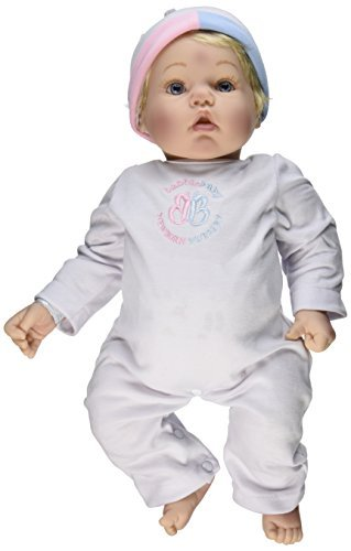 Madame Alexander Babble Baby, Blonde Hair, Blue Eye Baby Face Doll by Madame Alexander