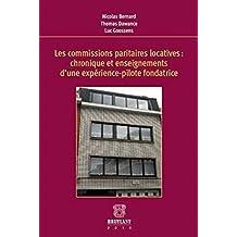 Les commissions paritaires locatives : chronique et enseignements d'une expérience-pilote