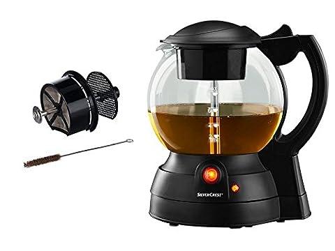 Elektrischer Teekocher Füllstandsskala und wärmeisoliertem Griff