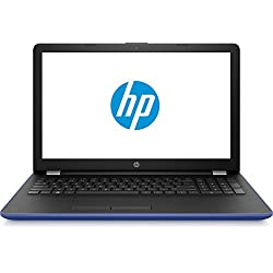 "HP 15-BS007NS - Portátil de 15.6"" HD (Intel Core i3-6006U 2 GHz, Disco Duro de 500 GB, RAM de 4 GB, gráfica HD Graphics 520, Windows 10 Home) Color Azul Marino"