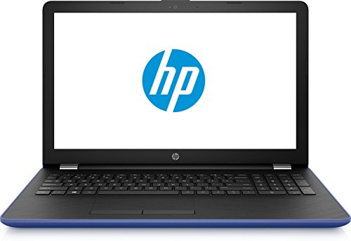 HP 15-BS007NS - Portátil de 15.6' HD (Intel Core i3-6006U 2 GHz, Disco Duro de 500 GB, RAM de 4 GB, gráfica HD Graphics 520, Windows 10 Home) Color Azul Marino