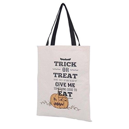 Sacchetto di Halloween, Longra borsa di tela halloween 36cm × 44cm A