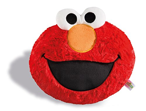 Nici 1 Sesamstraße Kissen Monster Elmo Figürlich, Rot, 28 x 24 cm