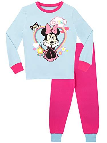 Disney pigiama a maniche lunghe per ragazze topolina vestibilitta stretta 4-5 anni