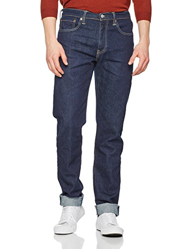 Levi's Herren Tapered Tapered Fit Jeans 502 Regular Taper, Blau (Chain Rinse 0020), W33/L32 Stretch Flare-hose