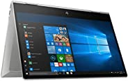 HP Envy x360 Convertible Laptop 15-DR1072MS- 15.6Inch FHD IPS Touch, Intel Core i7-10510U, 8GB, 512GB SSD, Int