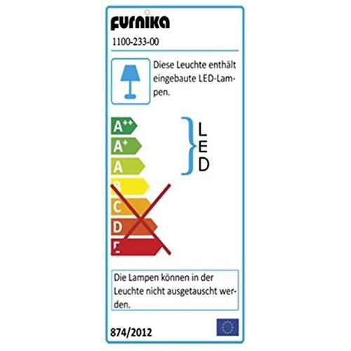 Wohnwand »PRENO231« Nussbaum-satin Nachbildung ohne Beleuchtung - 6