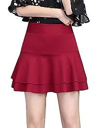 3b76884e5 Amazon.es: Faldas Con Volantes - M / Mujer: Ropa