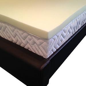 Double Memory Foam Mattress Topper