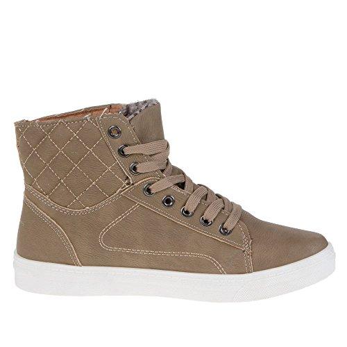 Damen Schuhe, K-13, FREIZEITSCHUHE Braun