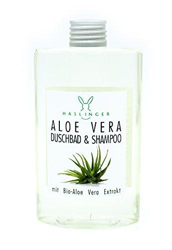 Aloe-vera-duschbad (Aloe Vera Duschbad & Shampoo von Haslinger mit Aloe Vera Extrakt, 200ml)
