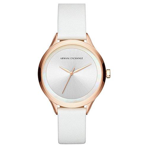 n Analog Quarz Uhr mit Leder Armband AX5604 ()