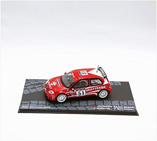 coches-rally-ixo-143-1-43-citroen-saxo-s1600-dallavilla-bernacchini-eral051